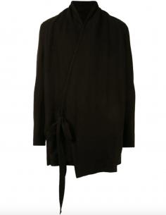 Cardigan Façon Kimono Noir