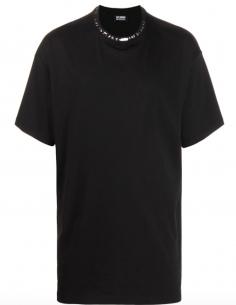 Kids In America Oversized Black T-Shirt