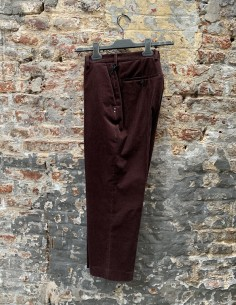 Burgundy Corduroy Astaires Trousers