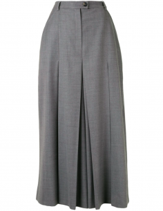 Grey Pleated Panty Skirt
