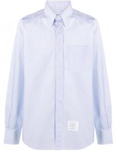 Cotton Poplin Striped Shirt
