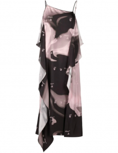 Nightgown pattern Marbled Asymmetrical