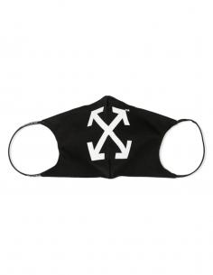 Masque imprimé arrows - noir