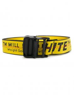 Mini yellow industrial belt