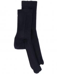 Chaussettes à bout Tabi bleues