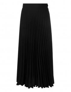 MM6 black high waist pleated skirt - SS21