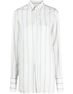 Long shirt with stripes