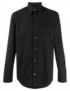 Classic cotton poplin shirt - Black