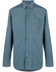 Classic cotton poplin shirt - Blue