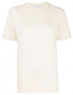 T-shirt logo « Arrows » imprimé ton sur ton - beige
