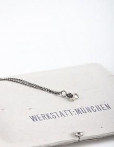 Silver heart pendant necklace WERKSTATT:MUNCHEN.