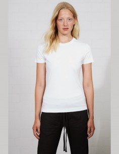 THOM KROM women's t-shirt in white light cotton - SS21