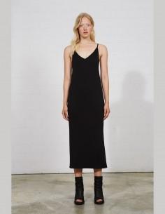 Long black cotton THOM KROM dress for women - SS21