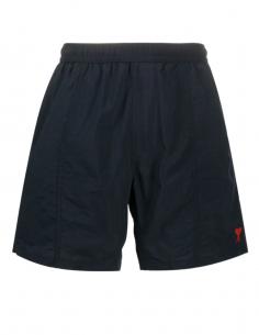 Short de maillot de bain bleu marine pour homme avec logo brodé - SS21