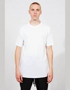 THOM KROM white fluid silk t-shirt for men