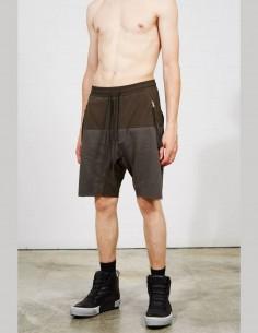 Short THOM KROM bi-color pour homme avec poches soufflet - SS21