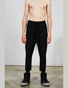 THOM KROM jogging pants in black cotton for men - SS21