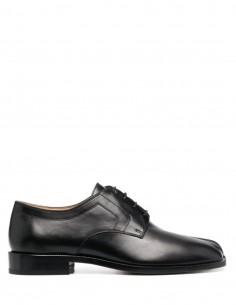 MAISON MARGIELA Chaussures Tabi en cuir noir