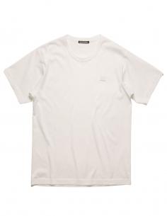 T-Shirt Nash Face - Blanc ACNE STUDIOS