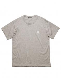 T-Shirt Nash Face - Gris ACNE STUDIOS