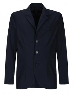 HARRIS WHARF navy blue blazer jacket with pockets for men - SS21