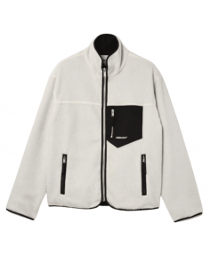 White reversible AMBUSH polar jacket for men - SS21