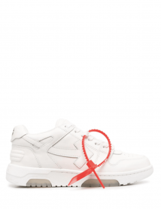 """Baskets mixte OFF-WHITE """"Ooo"""" blanches avec flèche """"Arrows"""" - SS21"""