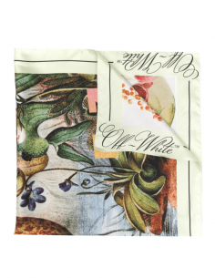 OFF-WHITE floral botanical print scarf for women - SS21
