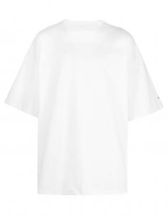 OAMC ecru oversized t-shirt with lobster print for men - SS21