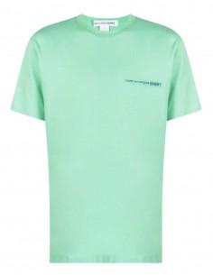 T-shirt COMME SES GARÇONS SHIRT vert avec logo pour homme - SS21