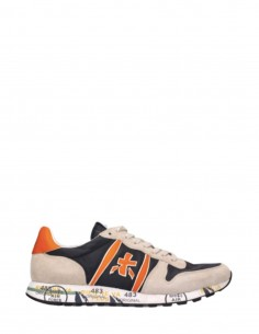 "Beige and orange ""Eric"" PREMIATA sneakers for men - SS21"