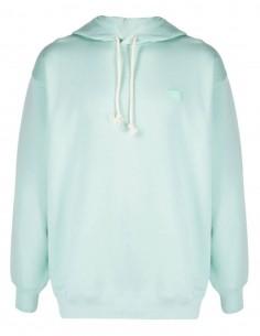Sweatshirt à capuche vert opaline ACNE STUDIOS mixte avec logo - SS21