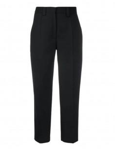 Pantalon crop droit ACNE STUDIOS noir pour femme - SS21