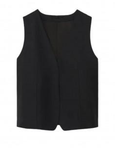 TOTÊME black sleeveless jacket for women - SS21