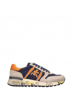 "PREMIATA ""Lander Var 5197"" beige nylon and crust sneakers for men - SS21"
