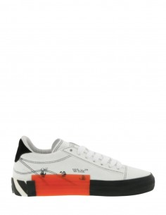 New Vulcanized White Sneakers Sole Striped OFF WHITE