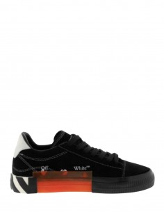 Black New Vulcanized Sneakers Sole Striped OFF WHITE