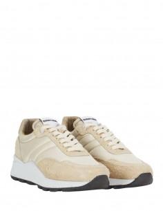 """Beige suede """"SPRING"""" sneakers AMI Paris"""