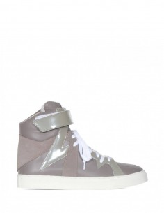 Attachment Sneakers - Ka42-027 - Taupe Attachment for Man - serie ||| NOIRE