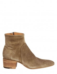 "PREMIATA ""31657"" beige suede boots with small heel"