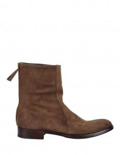 Boots Marron Zip Arriere Suede 30306 - PREMIATA