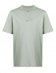 Green OAMC t-shirt with scarf at back for men - SS21
