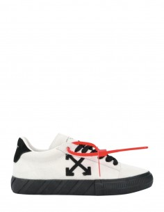 White New Arrow VULCANIZED Sneakers Suede OFF WHITE