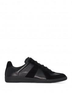 "MAISON MARGIELA black ""replica"" sneakers."