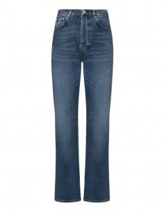 TOTËME blue loose fit jeans for women - SS21