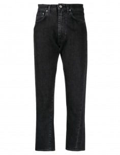TOTËME grey jeans with twisted seams for women - SS21