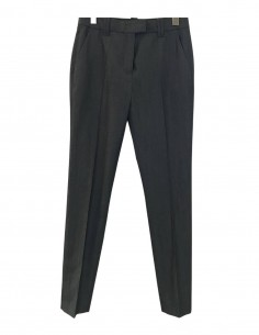 Grey pleated cigarette pants BARBARA BUI for women - SS21