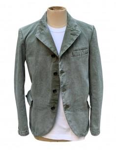 COMME DES GARÇONS BLACK faded khaki jacket for men - SS21