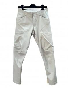 Pantalon ATTACHMENT gris clair à poches pour homme - SS21