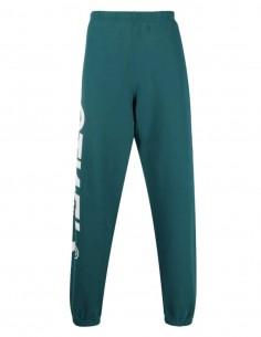 HERON PRESTON green jogging pants for men with logo - SS21